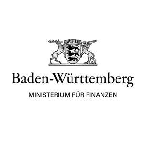 Logo des MInisterium für Finanzen Baden Württemberg