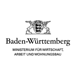 Logo des Ministerium für Wirtschaft, Arbeit und Wohnungsbau Baden Württemberg