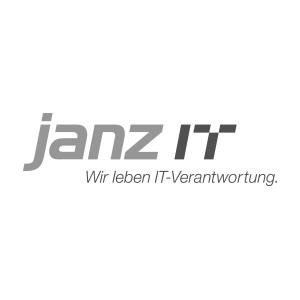 Logo Janz IT. Wir leben IT-Verantwortung