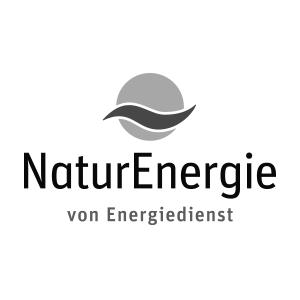 Logo von Naturenergie von Energiedienst