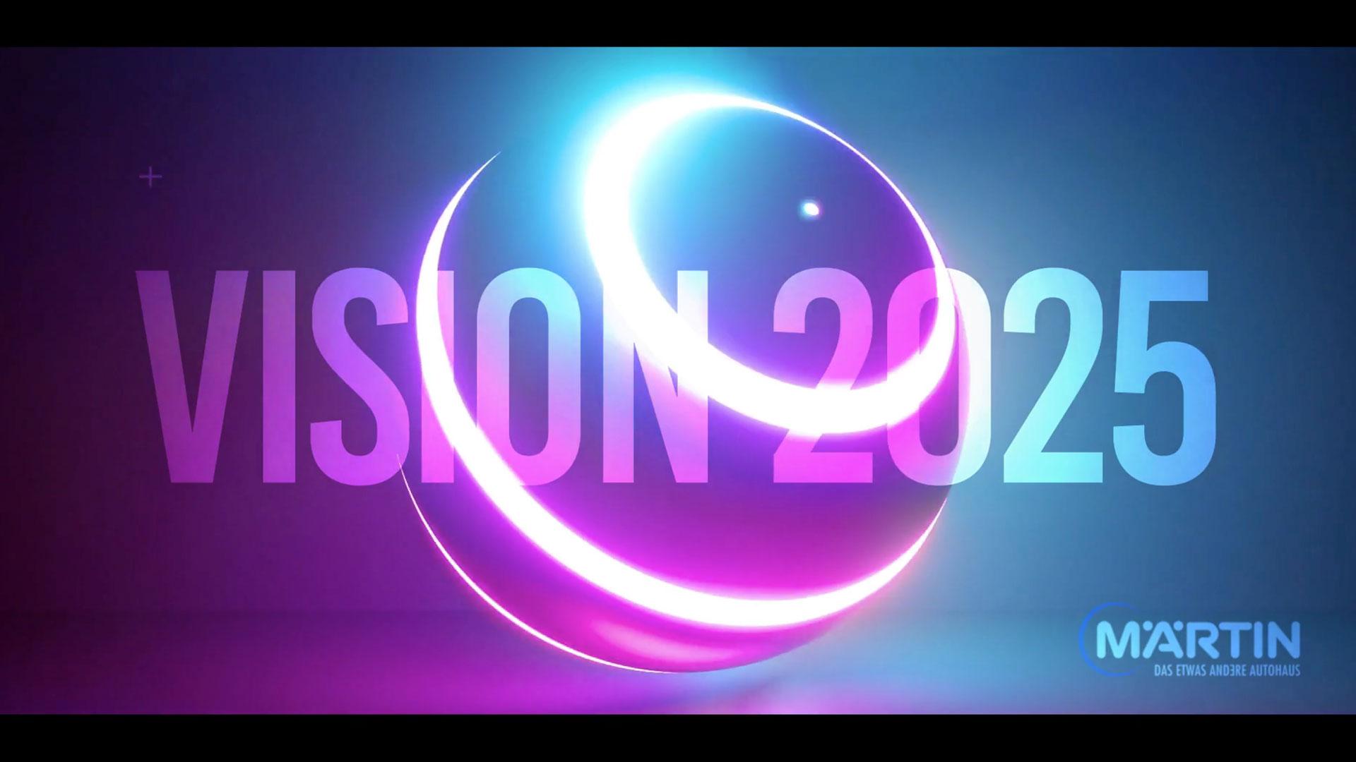 Ausschnitt aus dem Image-Clip Vision 2025 für das Autohaus BMW Maertin