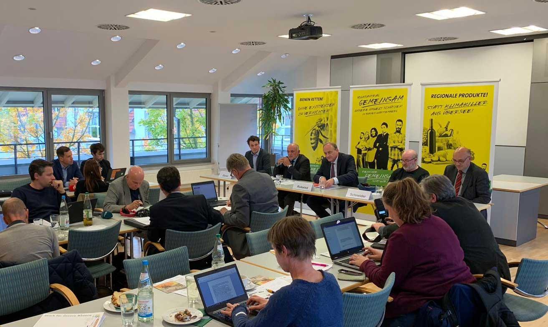 Volksantrag Gemeinsam des BLHV – Pressekonferenz