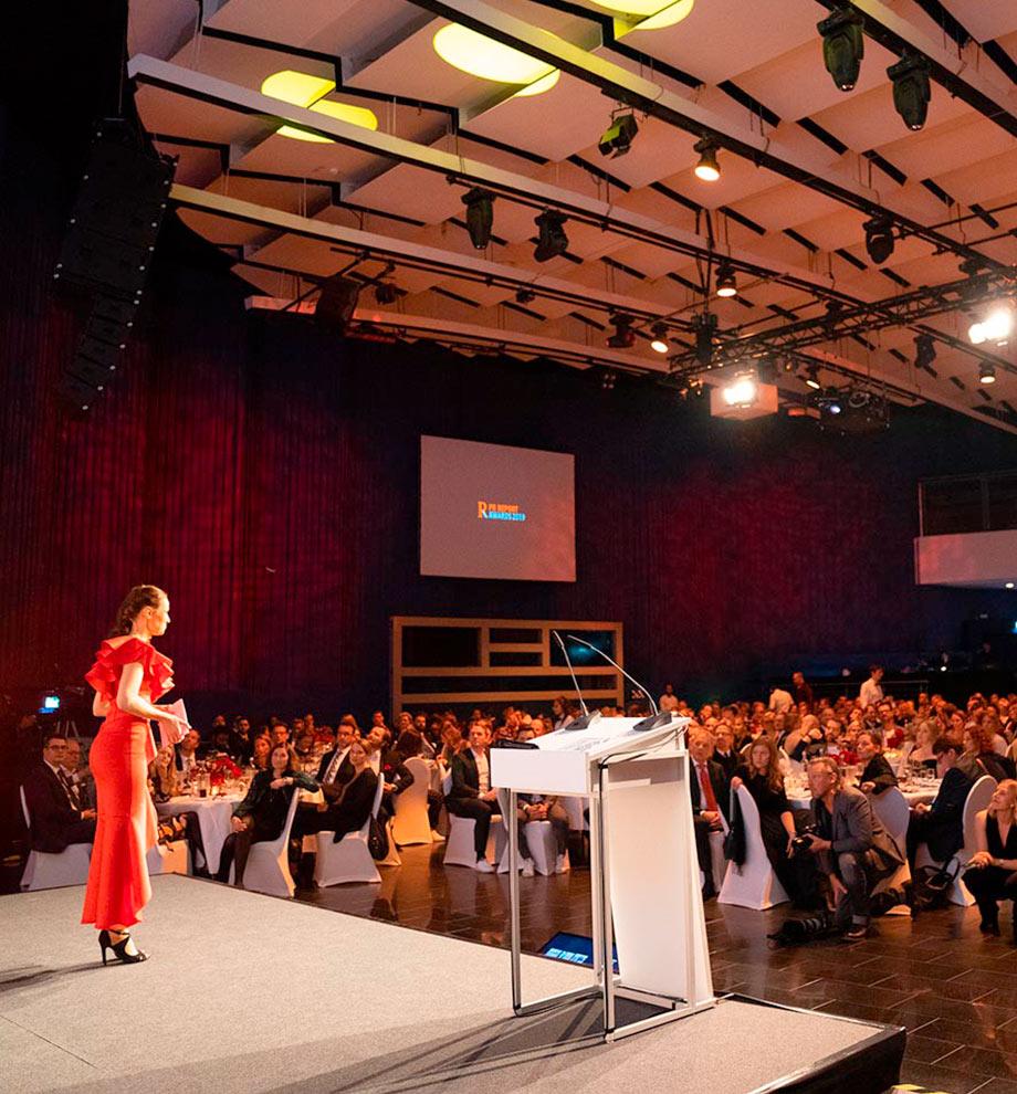 PR Report Award Veranstaltung