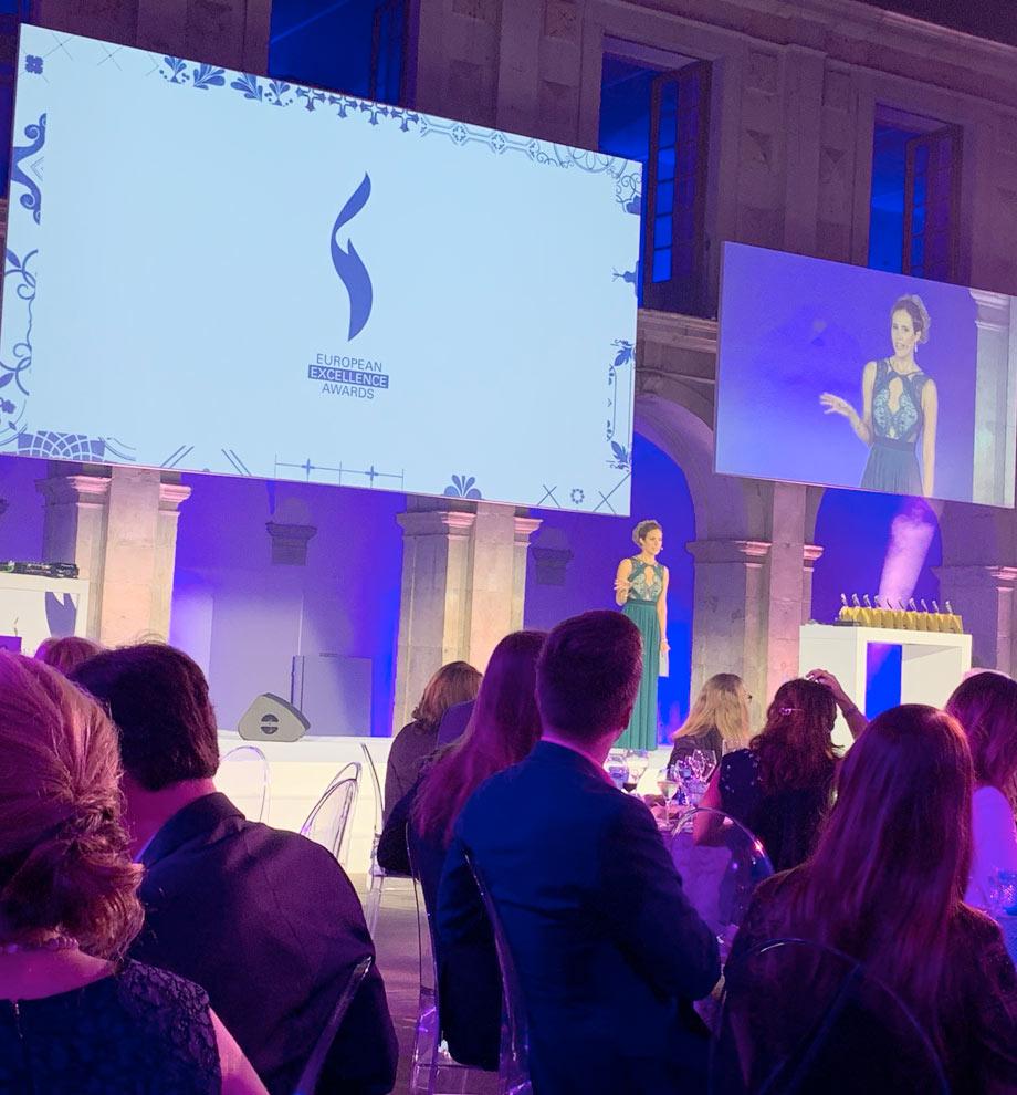 S+P beim European Excellence Award 2019 in Lissabon