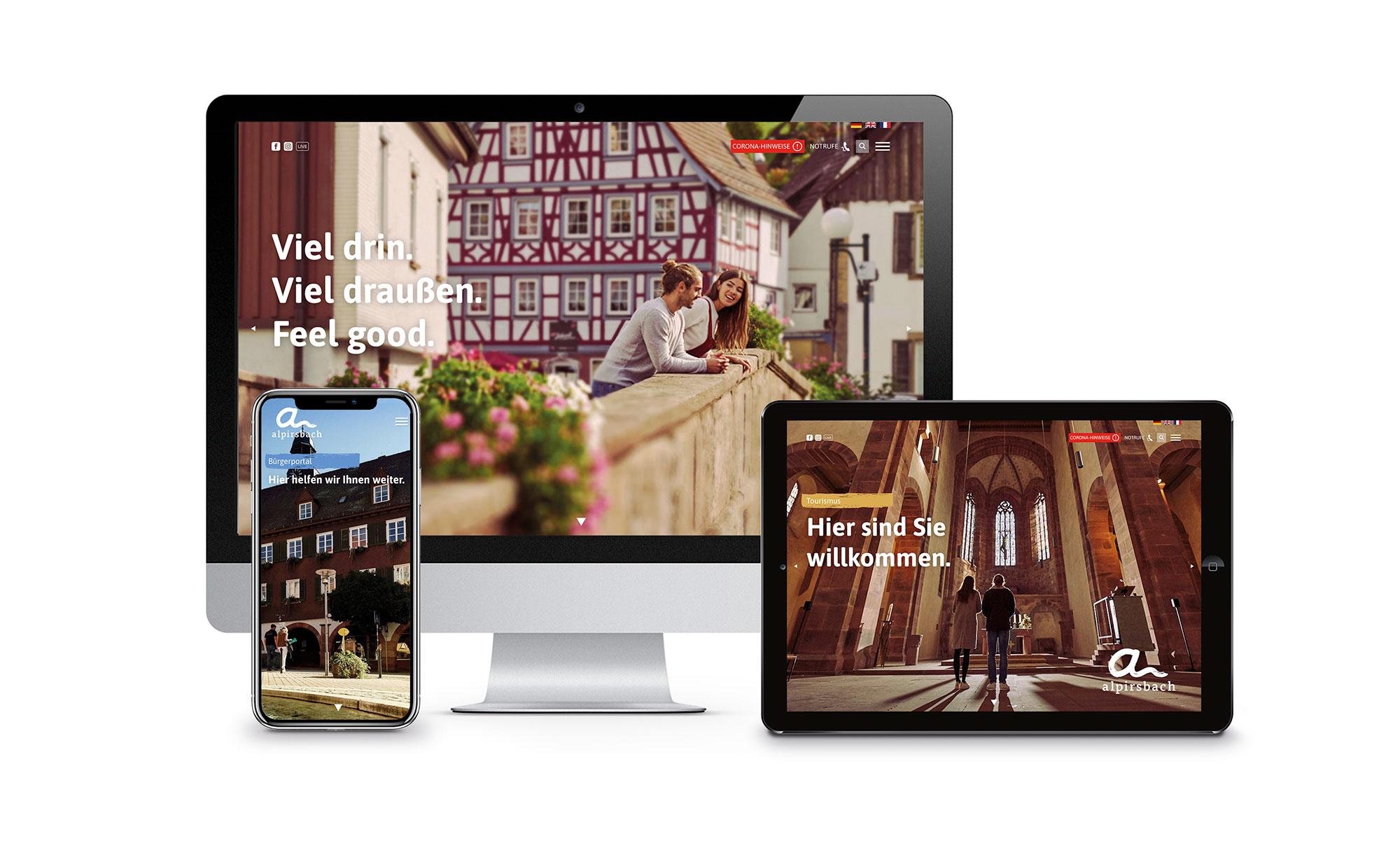 Web Relaunch der Stadt Alpirsbach