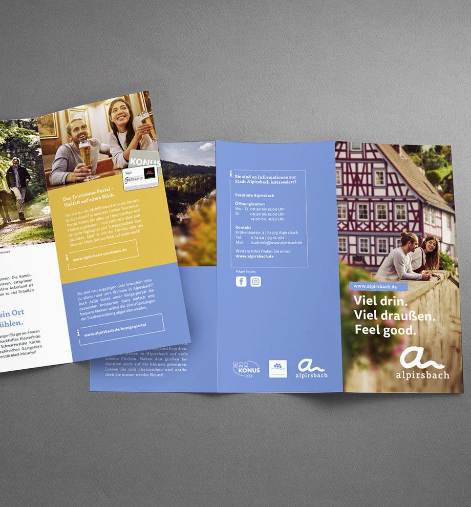 Flyer für Alpirsbach