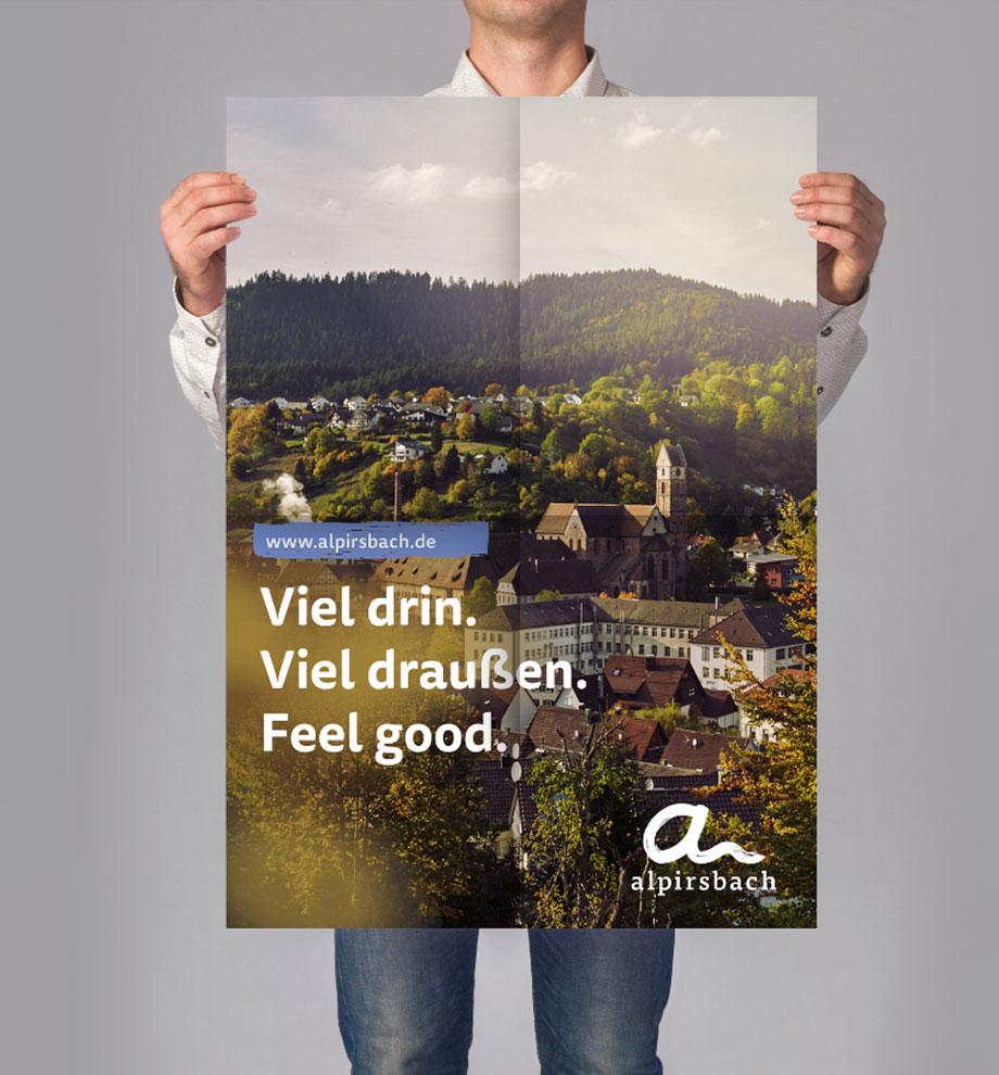 Print-Produktionen für Alpirsbach