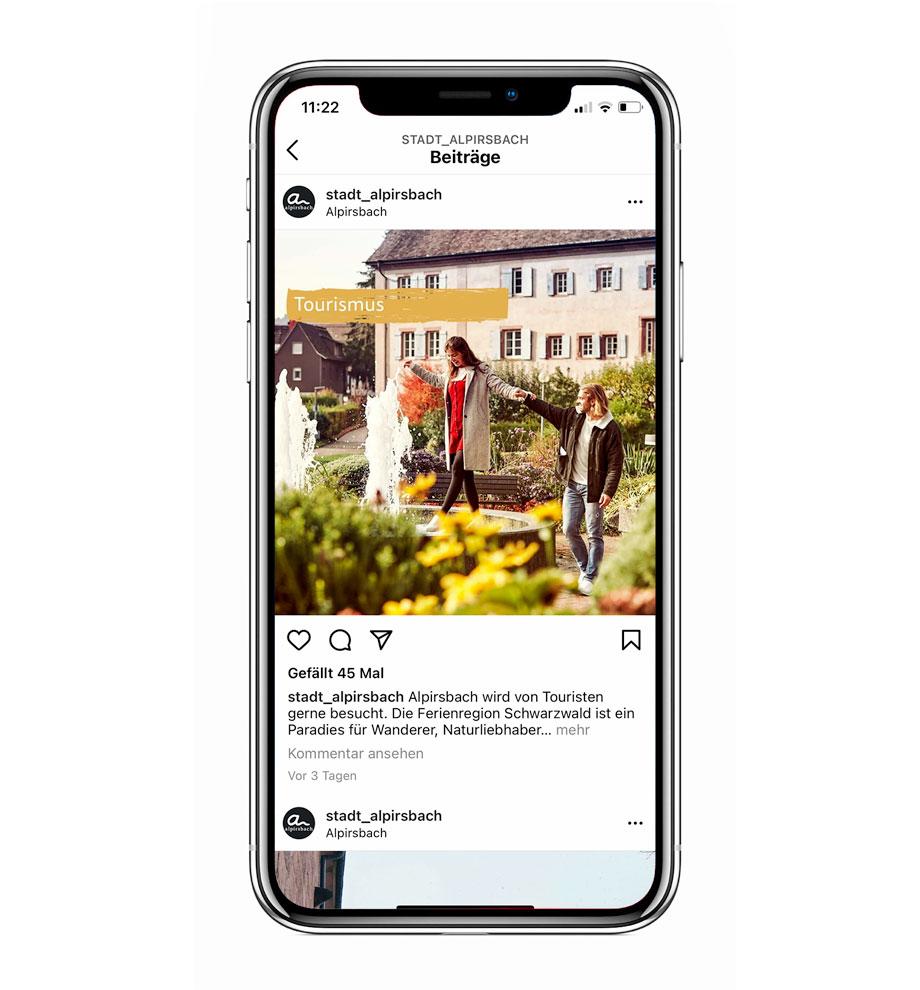 Social Media Post Alpirsbach